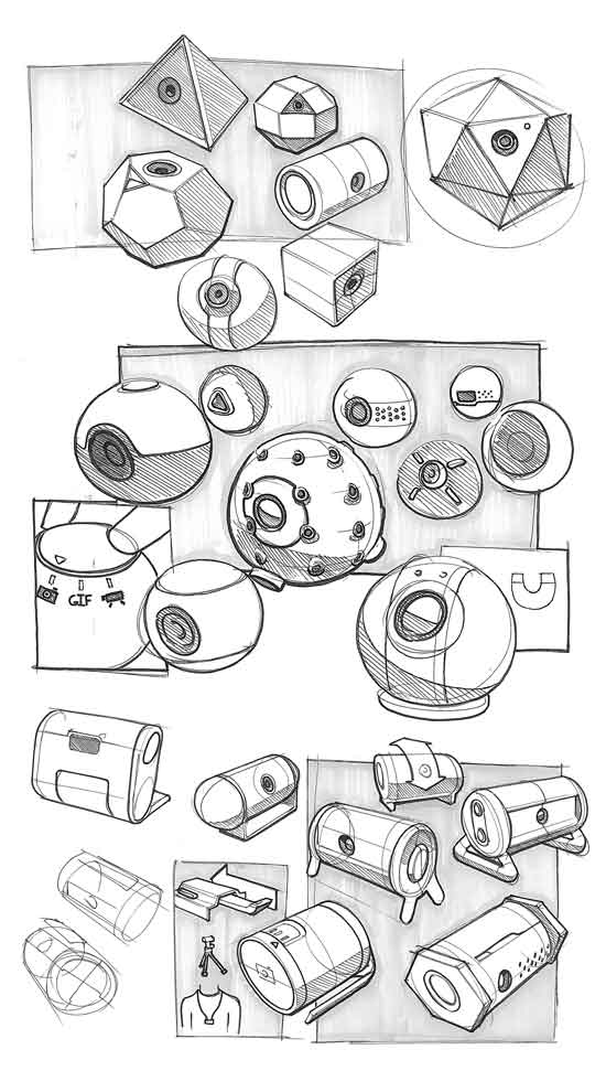 camera-industrial-design-sketch-collage-drawings