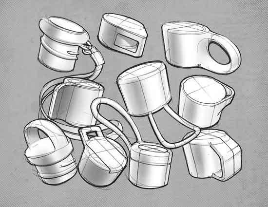 water-bottle-caps-concept-sketch