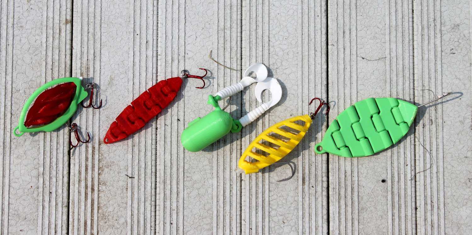 Testing 3d printed fishing lures jacob stanton for 3d printed fishing lures
