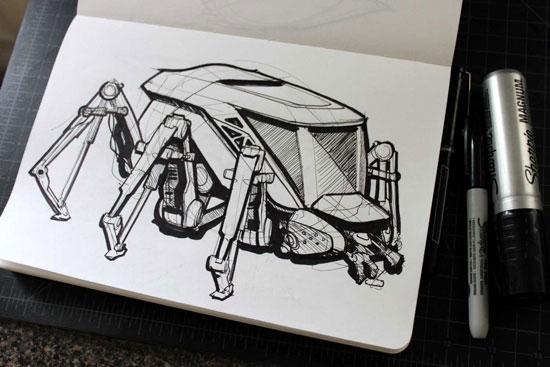 robot ant sketch
