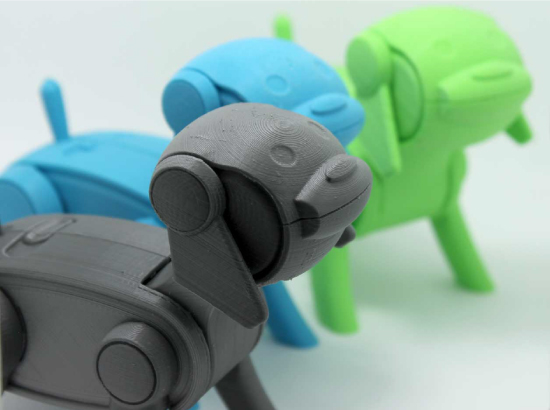 3D Printable Robotic Dog