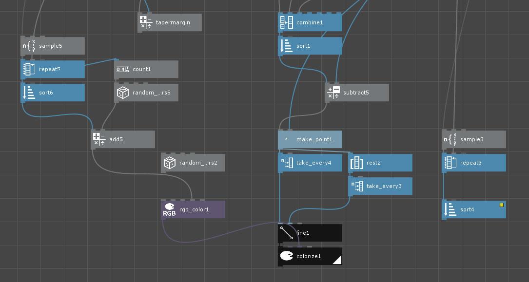 nodebox line pattern random design art initial hatch workflow