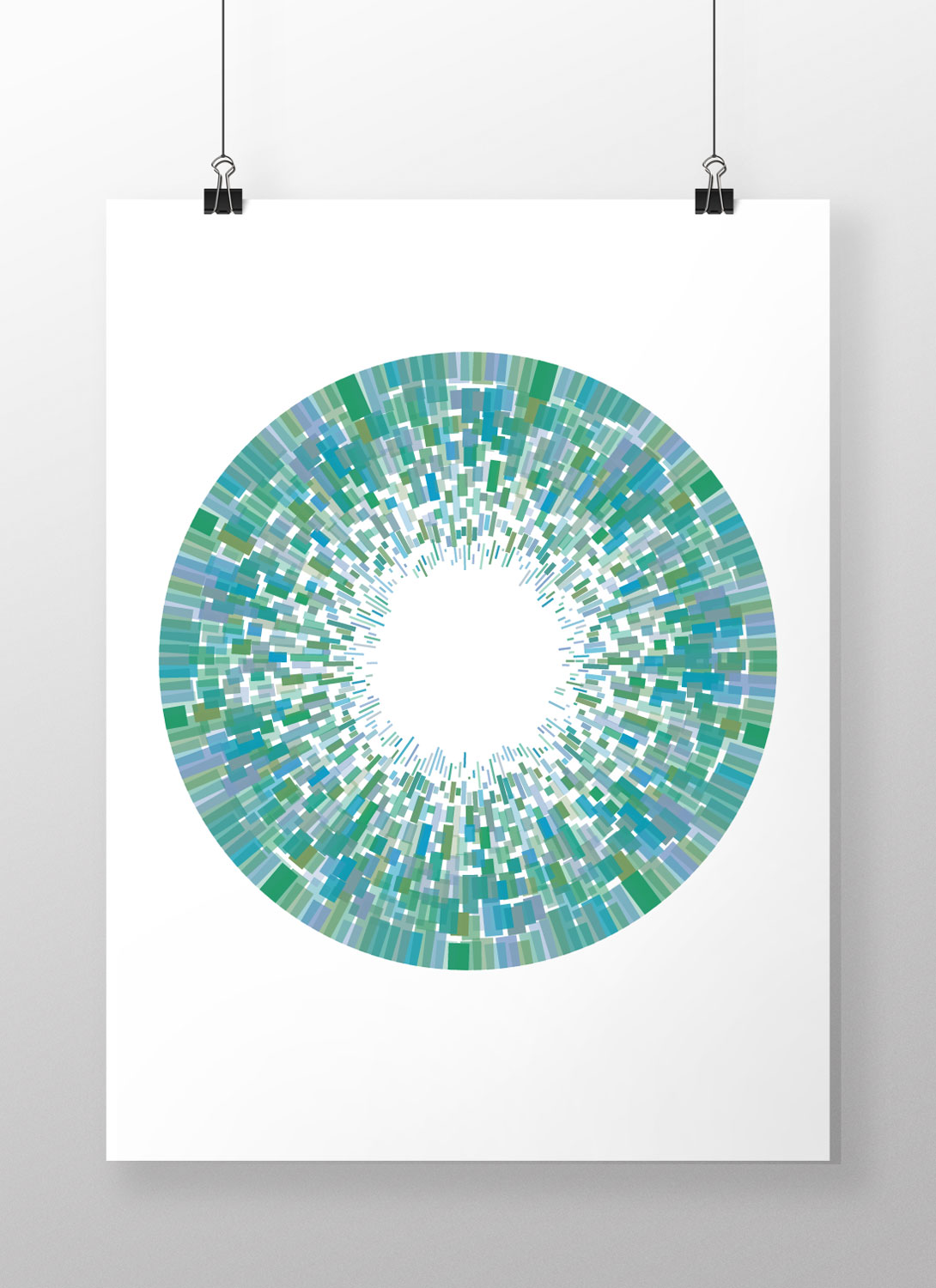 nodebox line pattern random art poster generative design