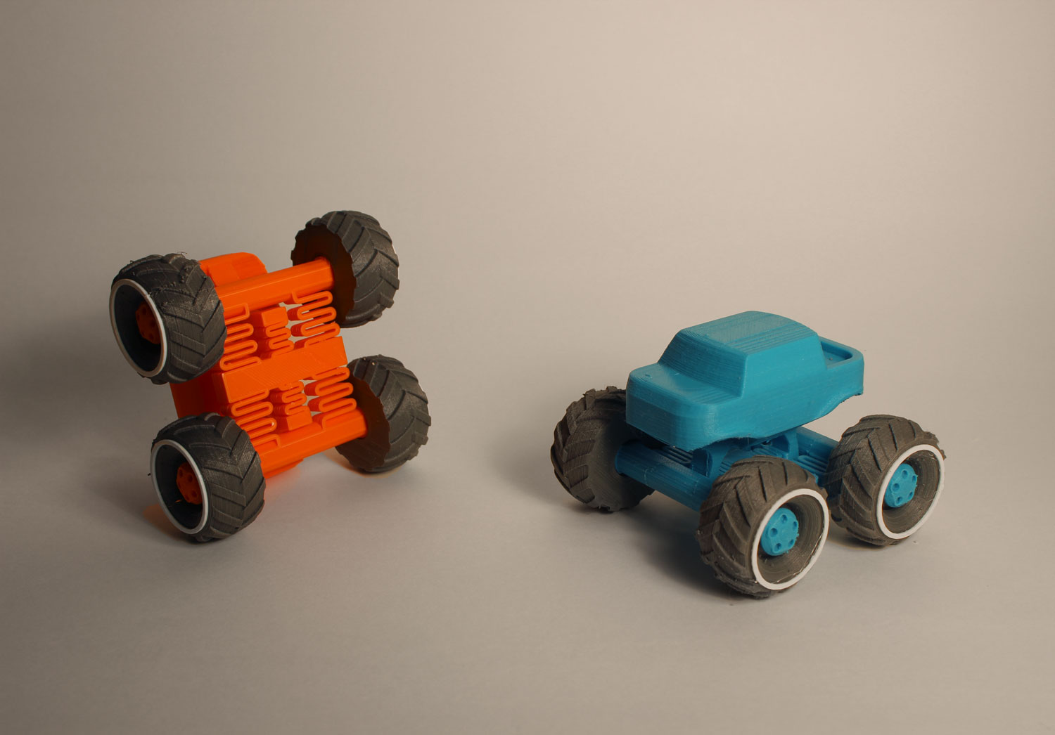 3d Printed Monster Truck 3