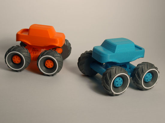 3D Printed Monster Truck