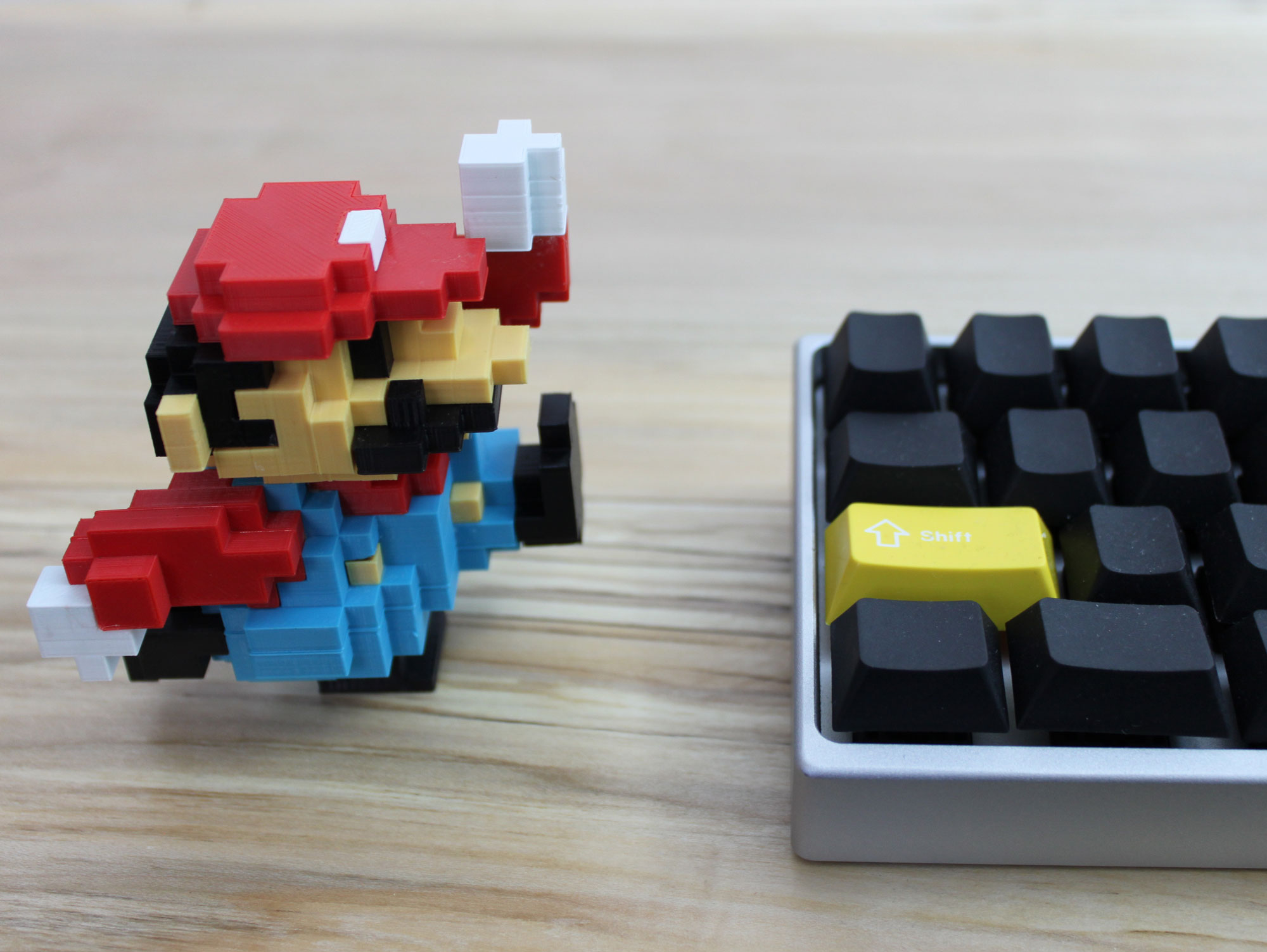 color options 3 3d printed super mario nintendo 8 bit retro print classic