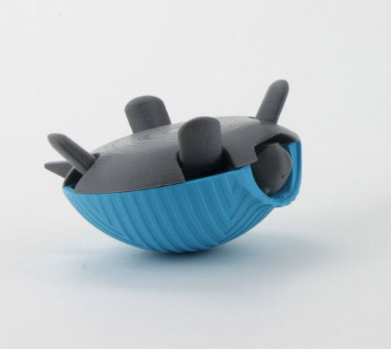 3D Printed Squishy Turtle – Design Process